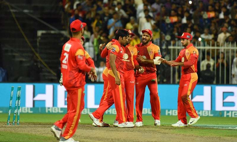 Islamabad united players