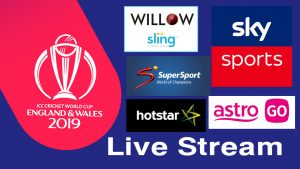 cricket world cup live stream 2019
