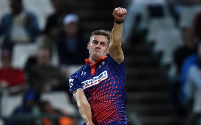 Anrich Nortje kolkata knight riders pace bowler