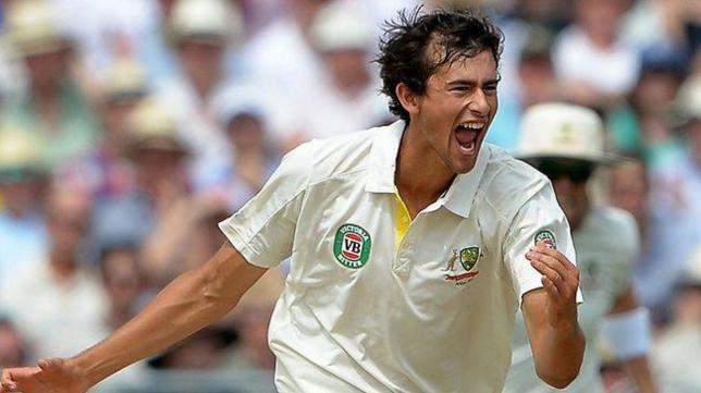 Aston Agar australian left arm spin bowler