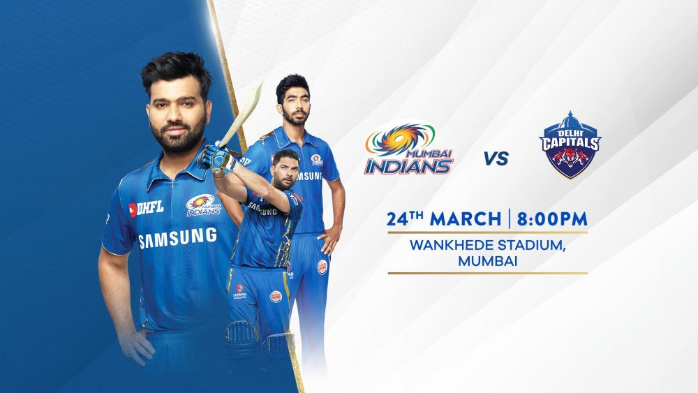 Mumbai Indians vs Delhi Capitals 24 March