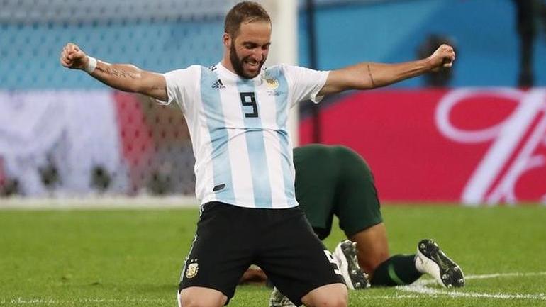 Gonzalo Higuain retire from argentina team