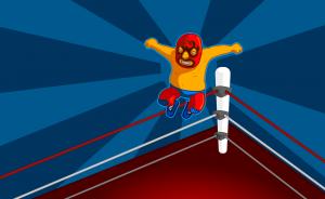 wrestling-cartoon