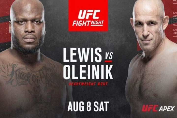 Lewis vs Oleinik Live stream Today on Reddit UFC Vegas 6 PPV, ESPN+ in USA
