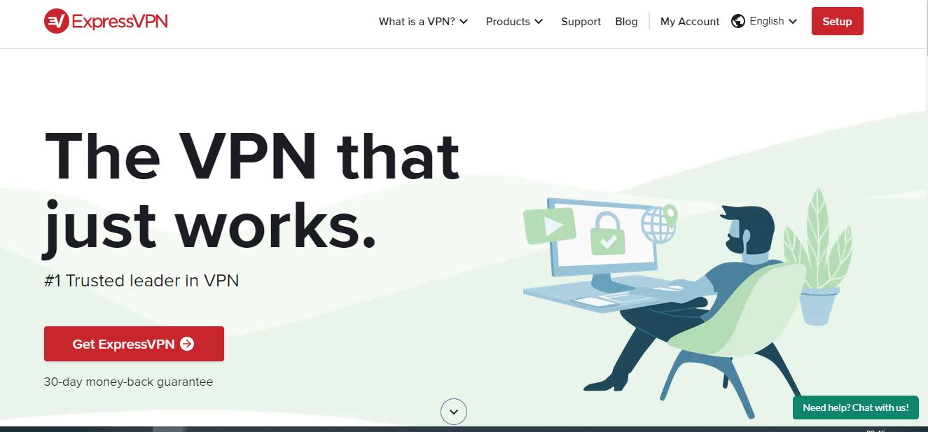 expressvpn signup page