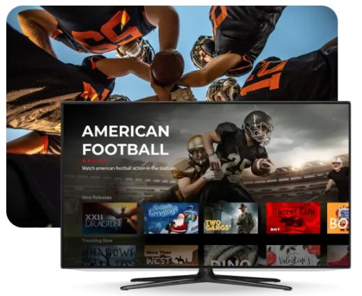 American Football game live